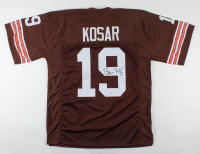 Bernie Kosar Signed Jersey (Beckett COA) at PristineAuction.com