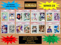ICON AUTHENTIC  300X MYSTERY BOX SERIES 23 300+ Cards per Box at PristineAuction.com