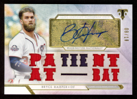 Bryce Harper 2018 Topps Triple Threads Autograph Relics #TTARBH1 at PristineAuction.com