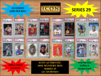 ICON AUTHENTIC  300X MYSTERY BOX SERIES 29 300+ Cards per Box at PristineAuction.com