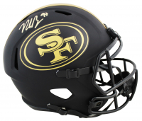 Nick Bosa Signed 49ers Full-Size Eclipse Alternate Speed Helmet (Beckett COA) at PristineAuction.com