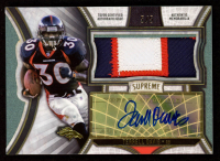 Terrell Davis 2015 Topps Supreme Autographed Jumbo Patches Green #SAJPTDA at PristineAuction.com