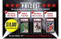 "Sportscards.com ""SUPER BOX"" 10 to 200 Cards PER BOX!! ALL SPORTS Edition -Series 6 at PristineAuction.com"