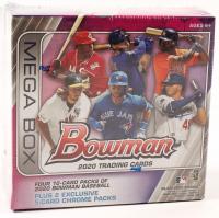 2020 Bowman Baseball Card Mega Box with (6) Packs at PristineAuction.com