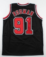 "Dennis Rodman Signed Jersey Inscribed ""Last Dance 98"" (Beckett COA) at PristineAuction.com"