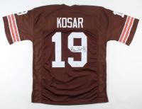 Bernie Kosar Signed Jersey (Beckett COA) at PristineAuction.com