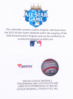 Bryce Harper Signed LE Nationals 15x17 Custom Framed Photo Display with Game-Used Base (JSA COA & MLB Hologram) at PristineAuction.com