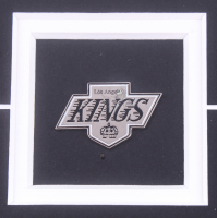 Wayne Gretzky 17x22 Custom Framed Photo Display with Kings Pin (Gretzky & JSA COA) at PristineAuction.com
