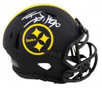 T.J. Watt Signed Steelers Eclipse Alternate Speed Mini Helmet (JSA COA) at PristineAuction.com