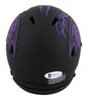 Ray Lewis Signed Ravens Eclipse Alternate Speed Mini Helmet (Beckett COA) at PristineAuction.com
