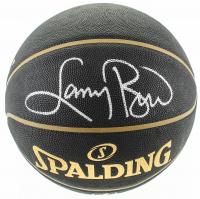Larry Bird Signed NBA Basketball (Schwartz COA & Bird Hologram) at PristineAuction.com