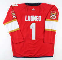 Roberto Luongo Signed Panthers Jersey (JSA COA) at PristineAuction.com