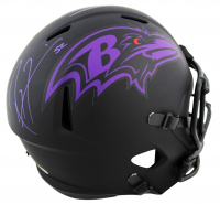 Ray Lewis Signed Ravens Eclipse Alternate Speed Full-Size Helmet (Beckett COA) at PristineAuction.com