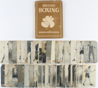 Lot of (48) Vintage Boxing Memorabilia Items With (47) Postcards & (1) British Boxing Hardcover Book at PristineAuction.com