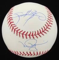 Mark McGwire & Sammy Sosa Signed OML Baseball (Beckett COA & MLB Hologram) at PristineAuction.com