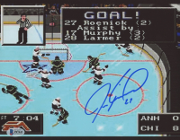 Jeremy Roenick Signed 8x10 Photo (Beckett COA) at PristineAuction.com