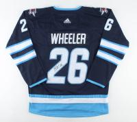 Blake Wheeler Signed Jets Captain Jersey (JSA COA) at PristineAuction.com