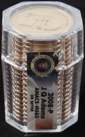 Roll of (20) 2008-P John Quincy Adams Presidential Dollars at PristineAuction.com