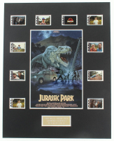 """Jurrasic Park"" LE 8x10 Custom Matted Original Film / Movie Cell Display at PristineAuction.com"