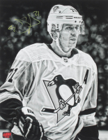 Evgeni Malkin Signed Penguins 11x14 Photo (YSMS COA) at PristineAuction.com