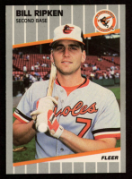 Bill Ripken 1989 Fleer #616 - Whited Out Knob at PristineAuction.com