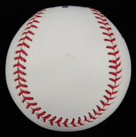 "Nolan Ryan Signed OML Baseball Inscribed ""All Time K King"" (AIV COA & Ryan Hologram) at PristineAuction.com"