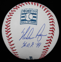 "Nolan Ryan Signed Hall of Fame OML Baseball Inscribed ""H.O.F. '99"" (AIV COA & Ryan Hologram) at PristineAuction.com"
