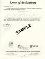 William Ellery Signed 22x26 Custom Framed Cut Display (JSA ALOA) at PristineAuction.com