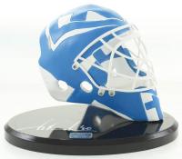 Tuukka Rask Signed Finland Mini Goalie Mask with Display Stand (Rask COA) at PristineAuction.com
