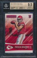 Patrick Mahomes II 2017 Rookies and Stars #201 RC (BGS 9.5) at PristineAuction.com