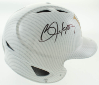 Bo Jackson Signed Royals Authentic Full-Size Hydro-Dipped Batting Helmet (Beckett COA) at PristineAuction.com