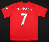 Cristiano Ronaldo Signed Machester United Jersey (Beckett COA) at PristineAuction.com