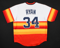 "Nolan Ryan Signed Astros Jersey Inscribed ""H.O.F. '99"" (AIV COA & Ryan Hologram) at PristineAuction.com"