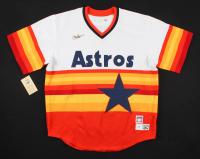 "Nolan Ryan Signed Astros Jersey Inscribed ""H.O.F. '99"" (AIV COA & Ryan Hologram) at PristineAuction.com"