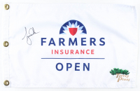 Tiger Woods Signed Farmers Insurance Golf Pin Flag (PSA LOA) at PristineAuction.com