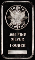 1 Oz. 999 Fine Silver Sunshine Minting Bullion Bar at PristineAuction.com