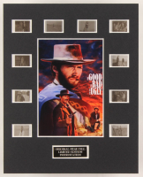 """The Good, The Bad And The Ugly"" LE 8x10 Custom Matted Original Film / Movie Cell Display at PristineAuction.com"