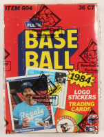 1984 Fleer Baseball Wax Box (BBCE Certified) at PristineAuction.com