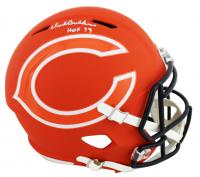"Dick Butkus Signed Bears Full-Size AMP Alternate Speed Helmet Inscribed ""HOF 79"" (JSA COA) at PristineAuction.com"