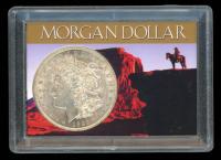 1921 Morgan Silver Dollar In Case at PristineAuction.com