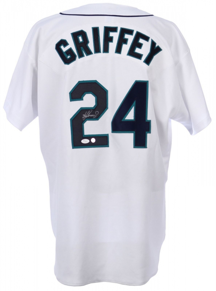 Ken Griffey Jr. Signed Mariners Authentic Russell Athletic Jersey (JSA LOA)  at PristineAuction d854c06f5