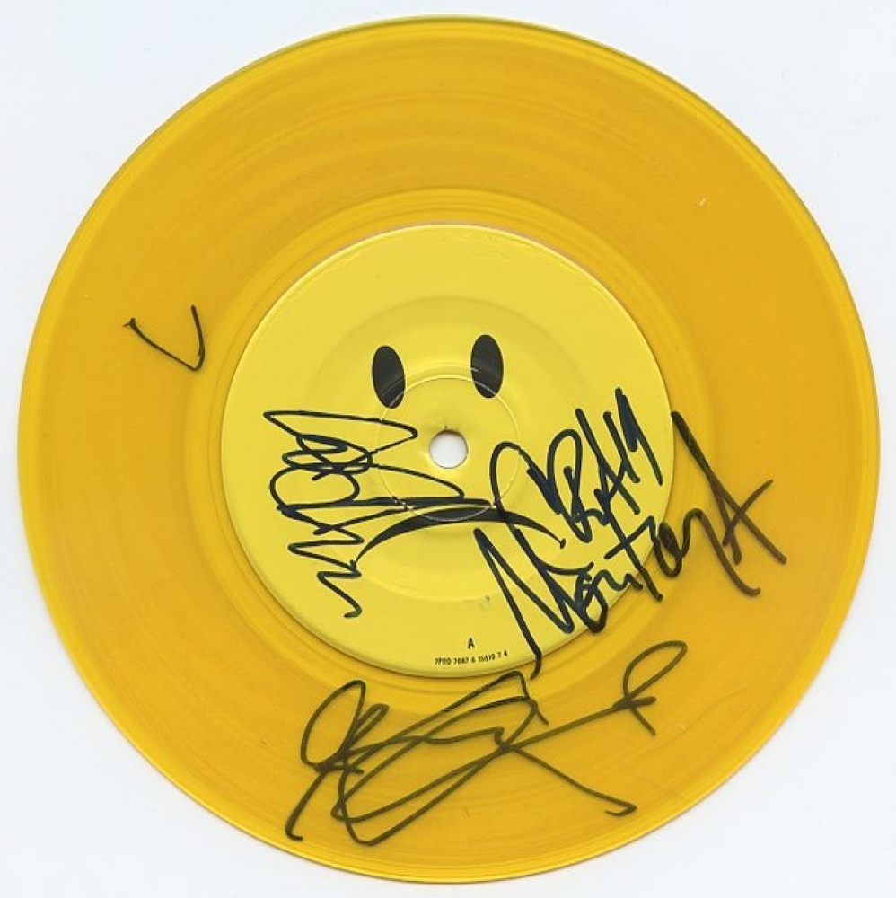 online sports memorabilia auction pristine auction everclear 45 record signed by 3 art alexakis greg eklund