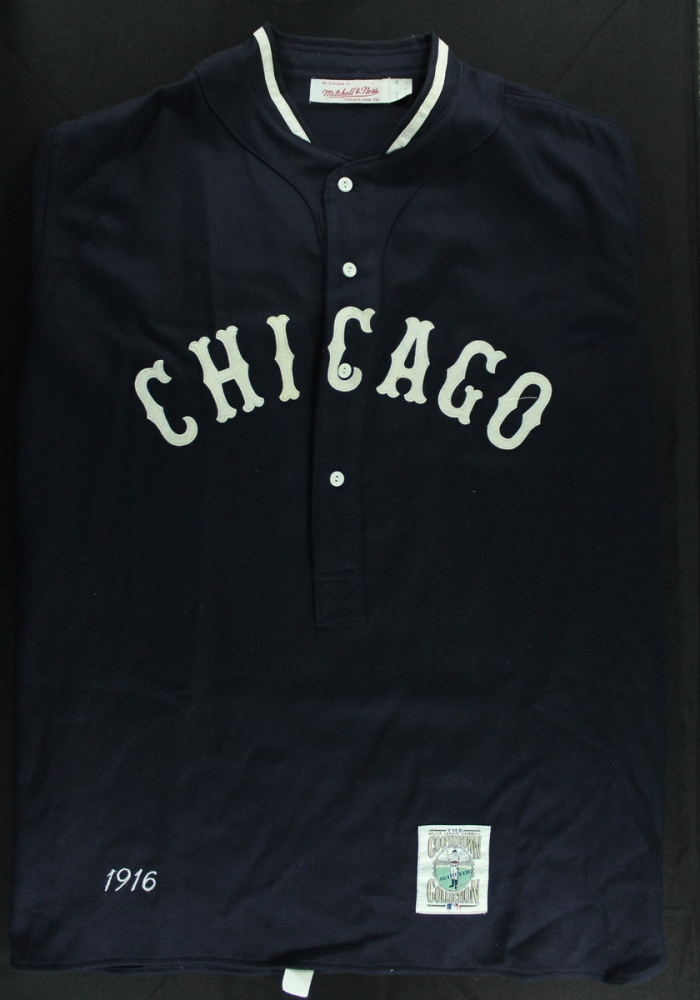Authentic Mitchell   Ness Cooperstown 1916 Chicago White Sox Jersey (Size  XL) at PristineAuction 217d50434