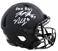 "Joey Bosa & Nick Bosa Signed Ohio State Buckeyes Full-Size Authentic On-Field Speed Helmet Inscribed ""Bosa Bros"" (Beckett COA) at PristineAuction.com"