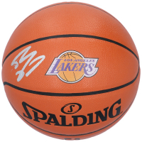 Shaquille O'Neal Signed Lakers NBA Game Ball Series Logo Basketball (Fanatics Hologram) at PristineAuction.com