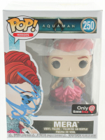"Amber Heard Signed ""Aquaman"" Mera #250 Funko Pop Vinyl Figure (PSA Hologram) at PristineAuction.com"