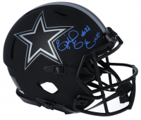 Ezekiel Elliott Signed Cowboys Full-Size Authentic On-Field Eclipse Alternate Speed Helmet (Fanatics Hologram) at PristineAuction.com