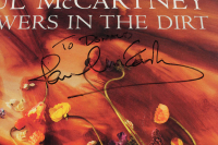 "Paul McCartney Signed ""Flowers In The Dirt"" Vinyl Record Album (JSA LOA) at PristineAuction.com"