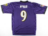 Steve McNair Signed Ravens Jersey (Beckett COA) at PristineAuction.com