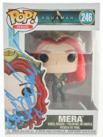 "Amber Heard Signed ""Aquaman"" Mera #246 Funko Pop! Vinyl Figure (PSA Hologram) at PristineAuction.com"